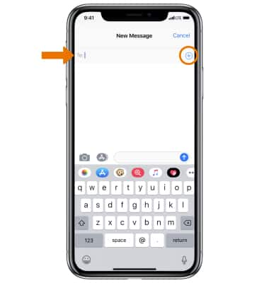 Apple iPhone X - iMessage - AT&T