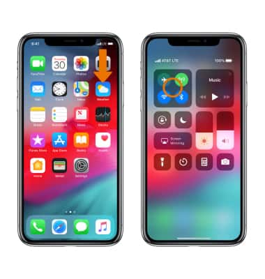 How to turn on airdrop on iphone xs max