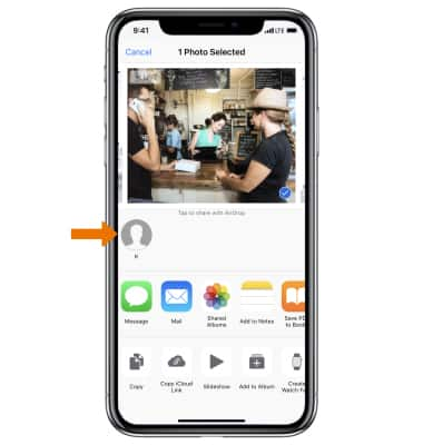 Apple iPhone XR - AirDrop - AT&T