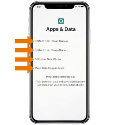 Apple iPhone Xs / Xs Max - Device Setup - AT&T