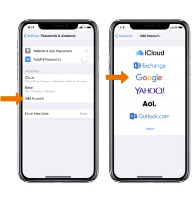 Apple iPhone XR - Email Settings - AT&T