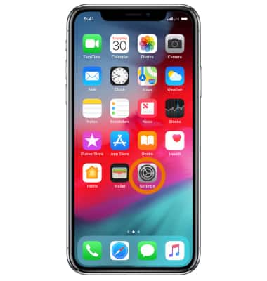 Apple iPhone X - Secure My Device - AT&T