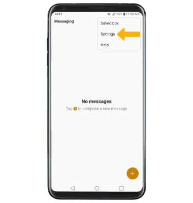 LG V35 ThinQ (LM-V350) - Messaging Settings - AT&T
