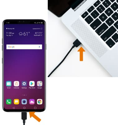 LG V40 ThinQ (LM-V405UA) - Backup & Restore with a Computer - AT&T