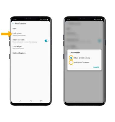 LG V40 ThinQ (LM-V405UA) - Notifications & Alerts - AT&T