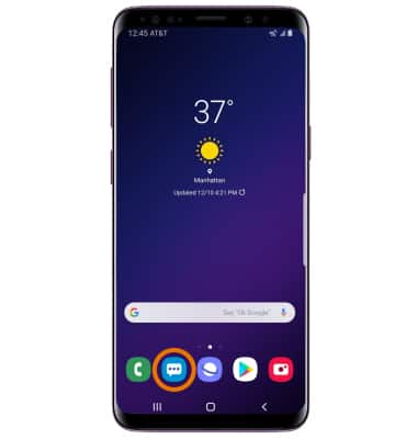 Samsung Galaxy S9 / S9+ (G960U/G965U) - Messaging Settings - AT&T