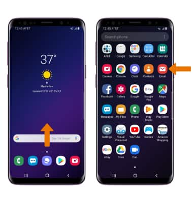 Samsung Galaxy S9 / S9+ (G960U/G965U) - Set Up Email - AT&T