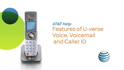 Play video to learn how to manage your U-verse Voice & Voicemail Features. Four minutes twenty one seconds.