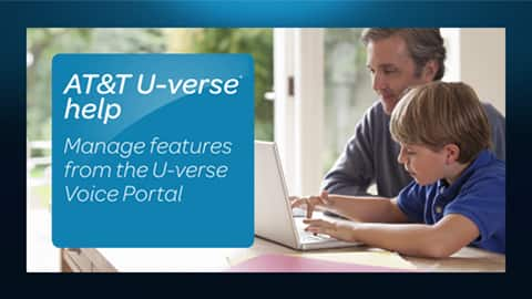 See how the U-verse Voice Portal lets you manage U-verse Voice features. Three minutes five seconds.