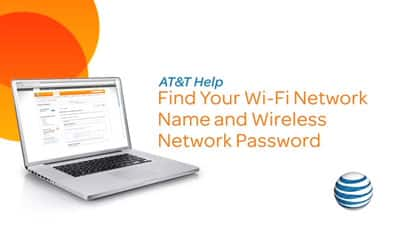 Video: Wi-fi name and password. Two minutes forty-seven seconds