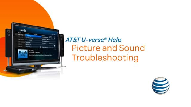 Video: Troubleshoot U-verse: Picture and sound. Three minutes ten seconds