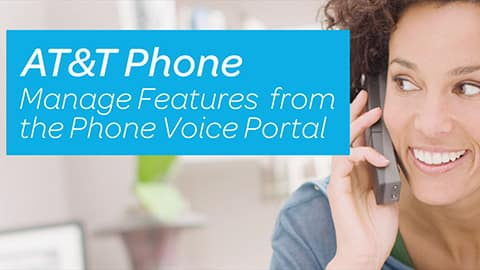 Play video to learn how to manage your phone features through the Phone Voice Portal. (Two minutes twenty-eight seconds)