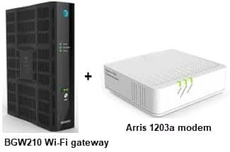 G.fast service gateway and modem