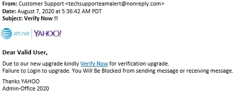 Verify account email