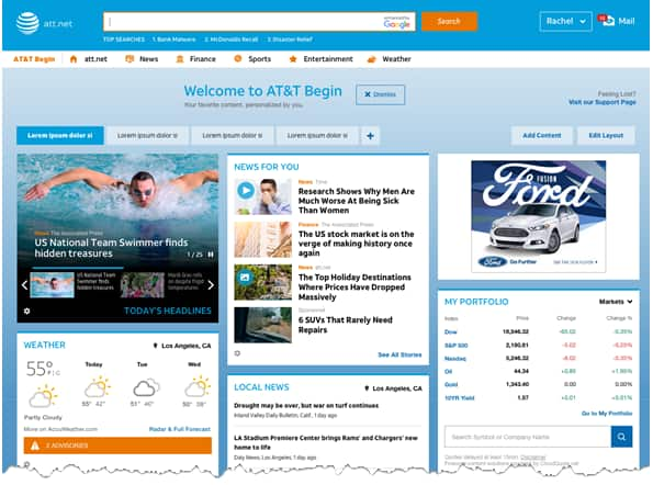 The New Att Net Homepage Email Support
