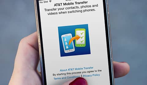 AT&T Mobile Transfer App - Transfer Phone Contacts & More