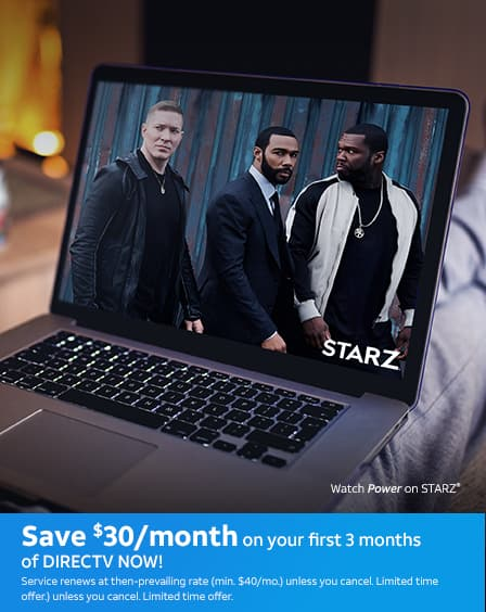 Save $30/mo. on your first 3 months of DIRECTV NOW! Service renews at then-prevailing rate (min. $40/mo.) unless you cancel. Limited time offer.