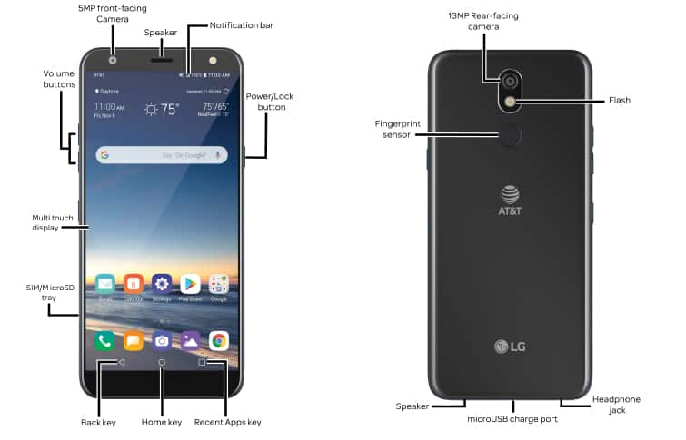 Lg K40 Lm X420as Device Help How To Guides At T