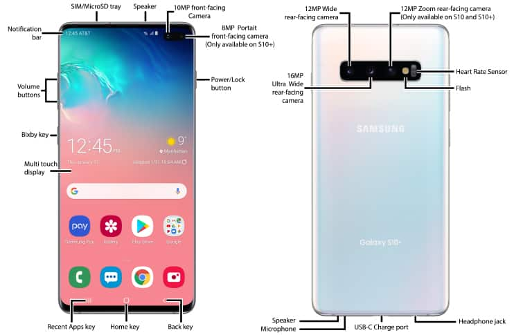 samsung galaxy s10 5g user manual pdf