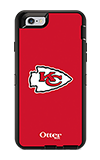Estuche y funda OtterBox Defender Series NFL Kansas City Chiefs para iPhone 6/6s