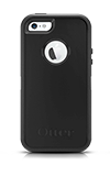 Estuche y funda OtterBox Defender Series, negro - iPhone 5s