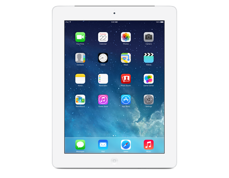 Apple iPad con pantalla Retina, Wi-Fi + móvil, 16 GB, blanco