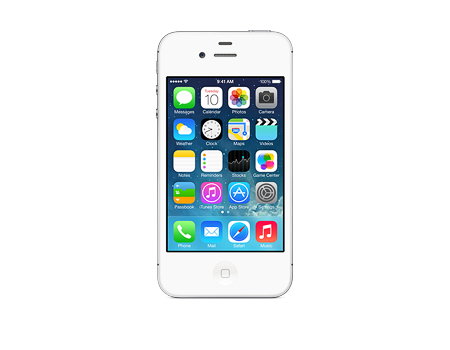 Apple-iPhone 4s - 32GB, blanco