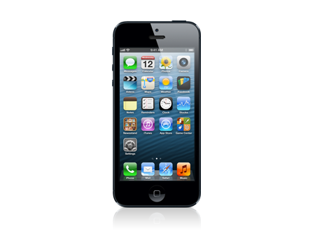 Apple iPhone 5 - 16 GB - Negro (certificado como nuevo)