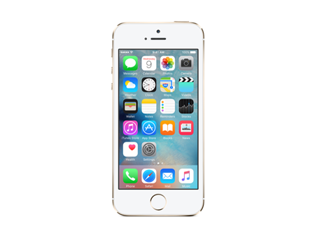 Apple iPhone 5s 16 GB, dorado