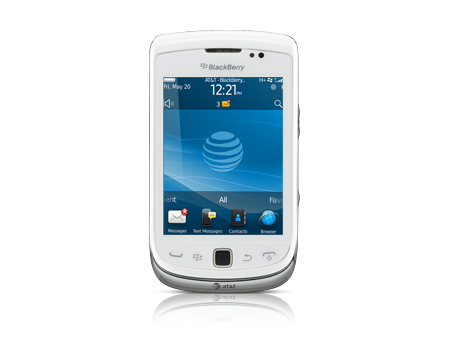 BlackBerry® Torch (TM) 9810 (Certified Like-New) - Pure White