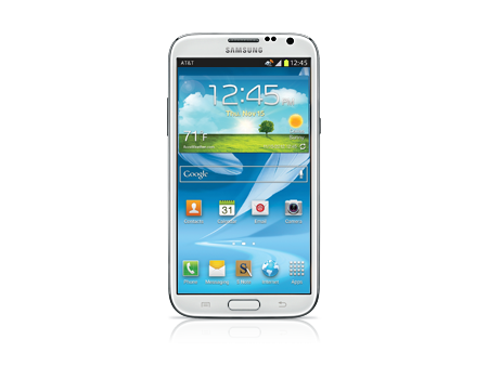 Samsung-Galaxy Note II-Marble White