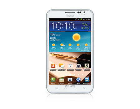 Samsung-Galaxy Note-Ceramic White