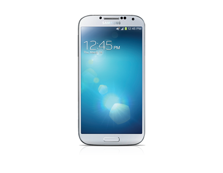 Samsung-Galaxy S 4, 16 GB, escarcha blanca