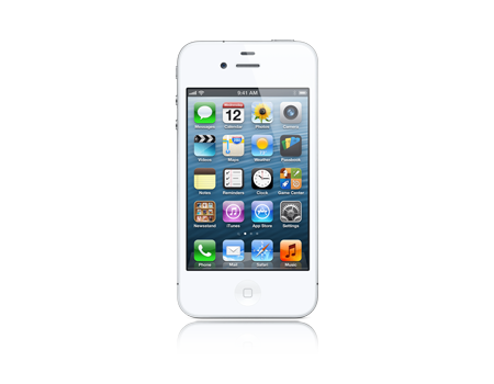 Apple-iPhone 4 - 8 GB - Blanco