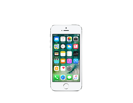 Apple iPhone 5s - 64GB, plateado