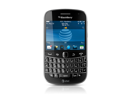 BlackBerry Bold 9900, negro carbón