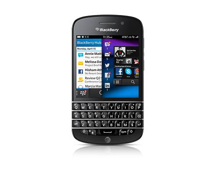BlackBerry Q10, negro