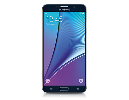 Samsung Galaxy Note5 de 32 GB, negro zafiro