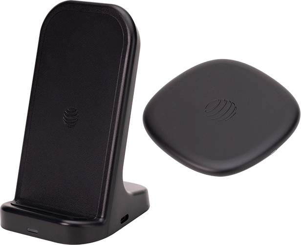 AT&T Wireless Charging Bundle - Black