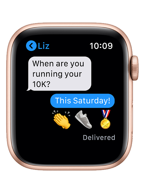 Apple Watch Series 6 44mm In Gold Aluminum Pink Sand Sport 330 Off At T