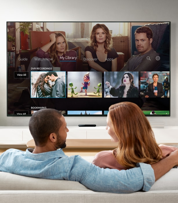 AT&T TV: Live TV, DVR, On Demand, Apps & Voice Control