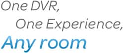 One DVR, One Experience, Any room