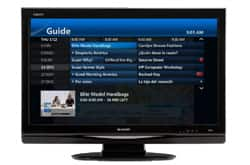 AT&T U-verse TV - Total Home DVR screen