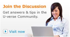 Get answers and tips in the U-verse Community.