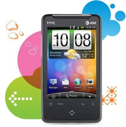 HTC Aria™ Android™ smartphone