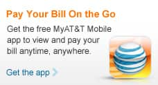 Get the free MyAT&T Mobile app and pay your bill anytime, anywhere