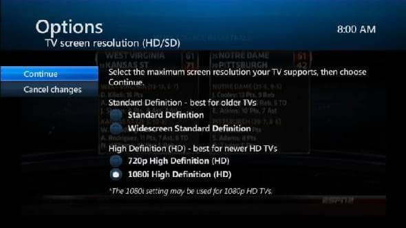 changing your tv screen resolution plus a 3d tv overview