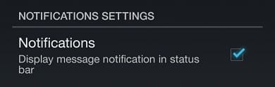 Notifications settings image