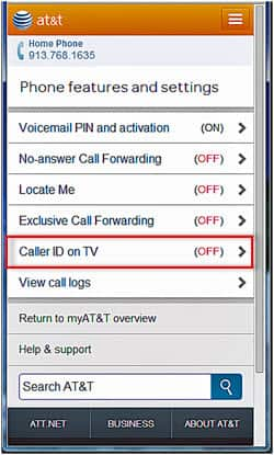 how to change caller id