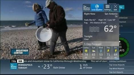 Weather on U-verse TV - U-verse TV Support